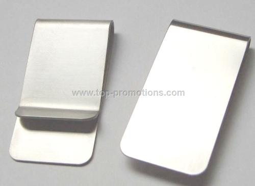 Metal money clips
