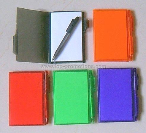 Memo Notebook With Pen
