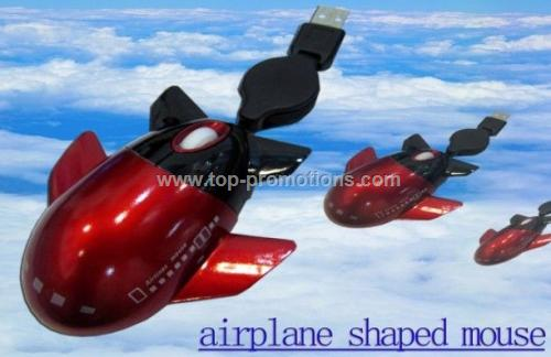 airplane shaped mouse