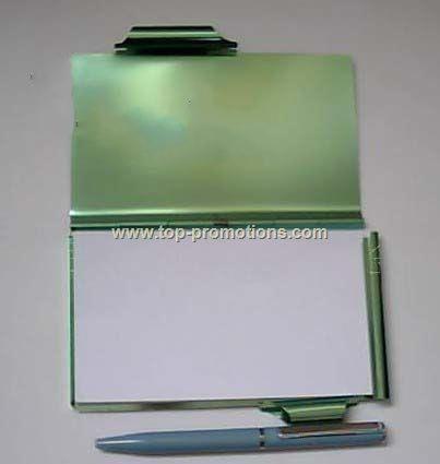 Aluminum Note Pad Holder