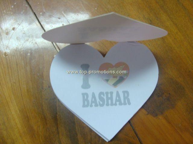 Heart Notepaper