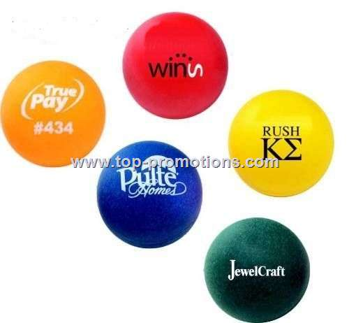 Colored Ping Pong Balls