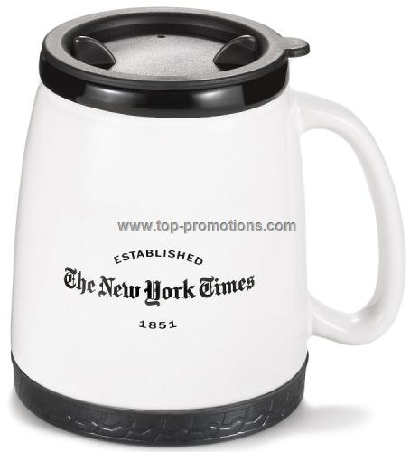 Ceramic travel mug