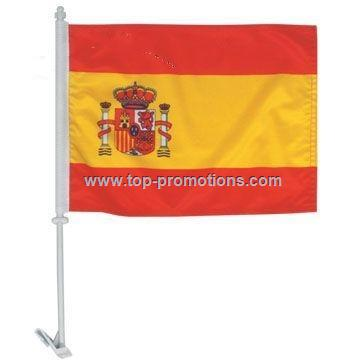 Polyester Car Flag & Hand Flag
