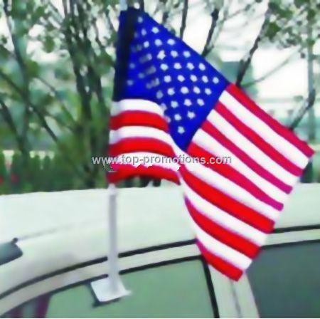 Car flag set