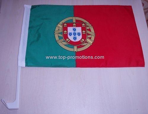 Portuguese car flag