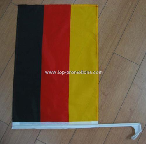 Germany car flag