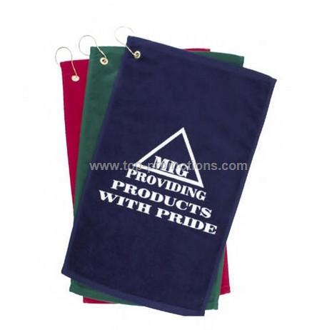 Imprinted golf towel