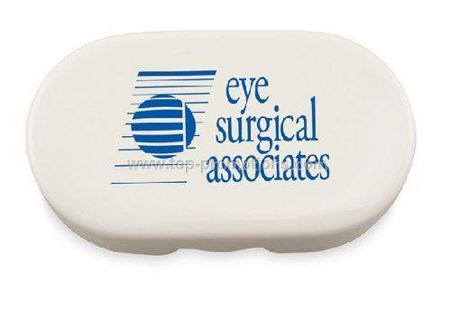Travel Contact Lens Case with Mirror