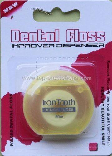 Dental Floss In Plastic Box
