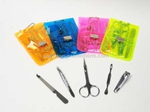Manicure kit with five manicur