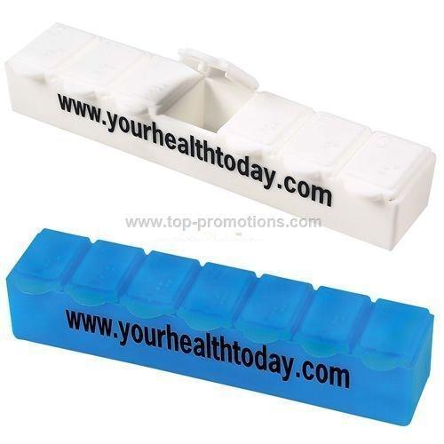 Jumbo 7-Day Strip Pill Box