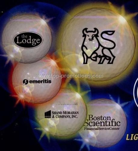 Light-up Bulk Golf Ball