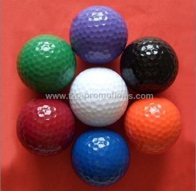 Multi-colored Golf Balls