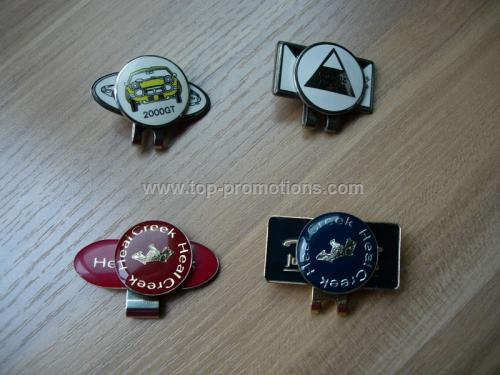 Custom Design Metal Golf Marker