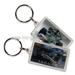 Rectangle Acrylic Keychains