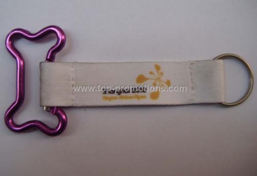 Dog Bone Carabiner Key Chain
