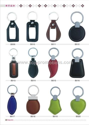 leather key