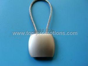 Shaped alloy key chain