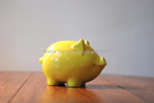 Ceramic Piggy Coin Bank