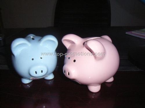 Ceramic Piggy Coin Banks