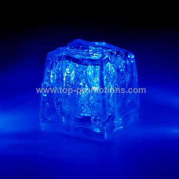 Premium color lighted ice cube