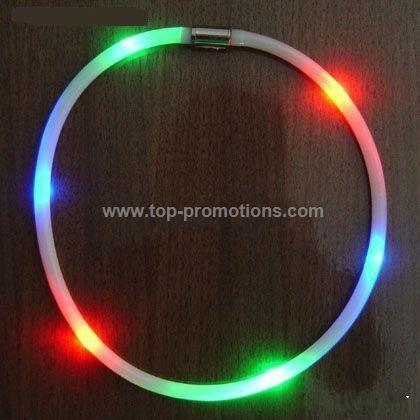 Mood Changing LED Fiber Optic Necklace