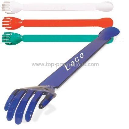 Back scratcher and shoe horn all in one
