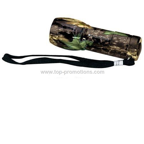Camouflage Mini Aluminum LED Flashlight