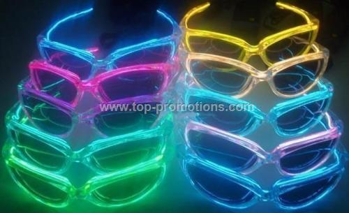 EL flash Glasses