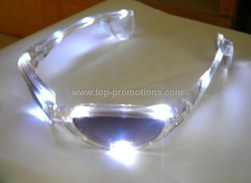 12 LED Flashing Glasses