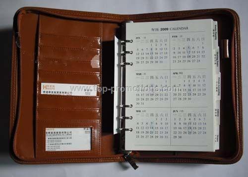 25x18.5x3.0cm PU Diary