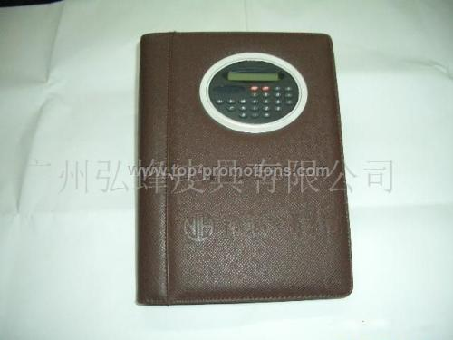 diary with calculator