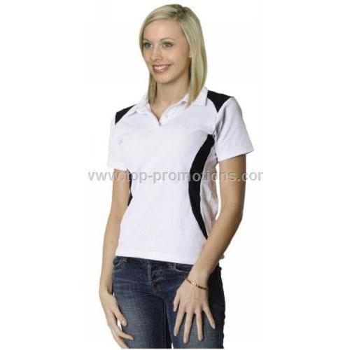 Ladies TrueDry Contrast Polo