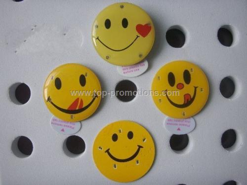Happy Face Led Pin