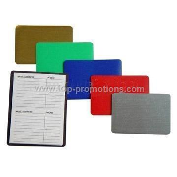 Magnetic Address Books