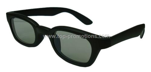 Plastic Polarized 3D Glasses