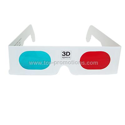 Custom Logo Paper 3D Glasses