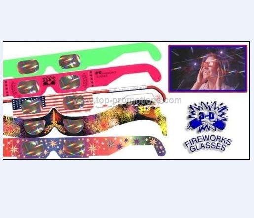 3D Fireworks Glasses / 3D Rainbow glasses /3D glas