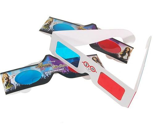 3D Visual Paper Glasses