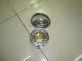 Minya Metal Compass W/Mirror