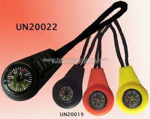 Compass zip puller