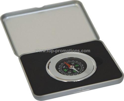 Blank aluminum compass