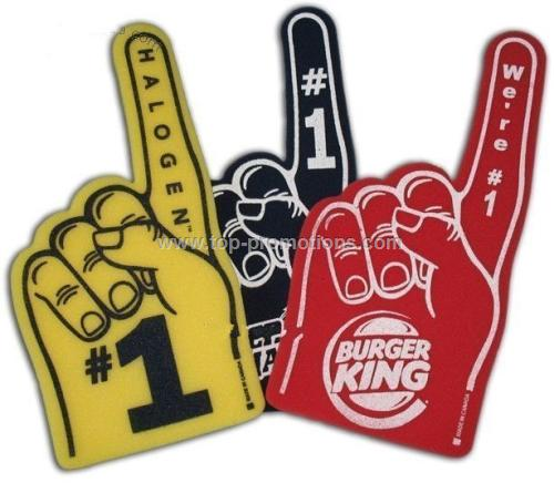 1 Hand Foam Finger