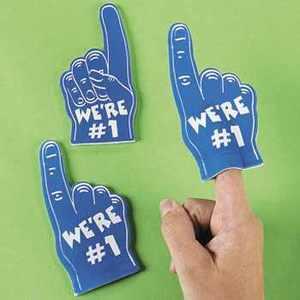 Foam 1 Hand Foam Finger