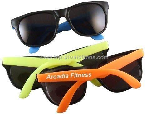 Rubber sunglasses