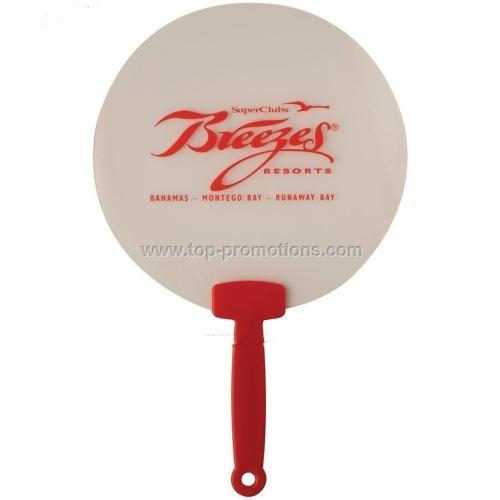 Round Plastic Fan