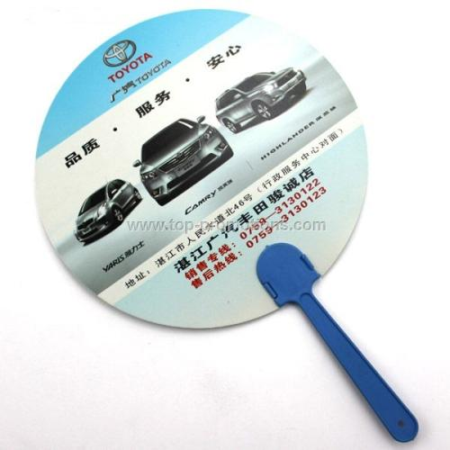 Promotion Plastic Fan