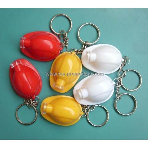 Helmet Led light keyring