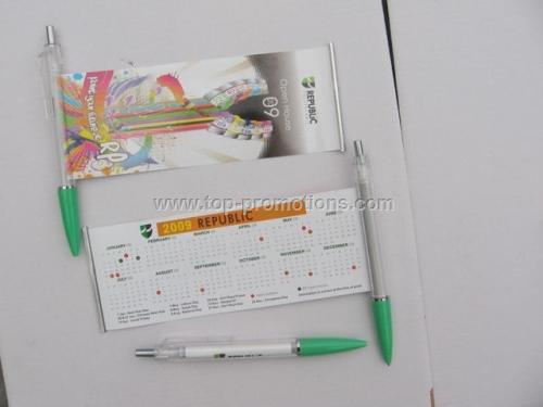 Advertising Banner Pens / Banner Pen with Scroll I